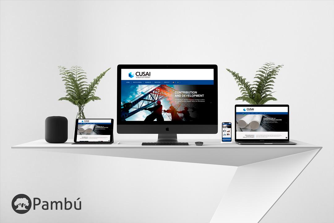 Sitio Oficial de CUSAI